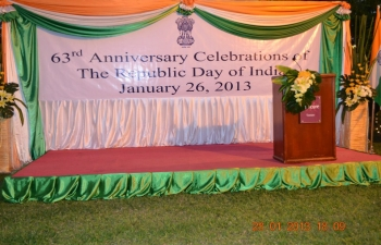 Reception to celebrate the 64th Republic Day of India at India House