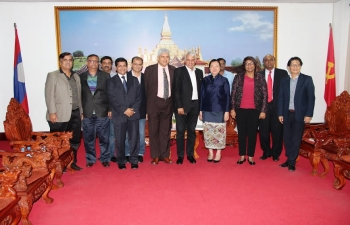 Visit of FICCI Business Delegation to Lao PDR from 9-11 Dec., 2015