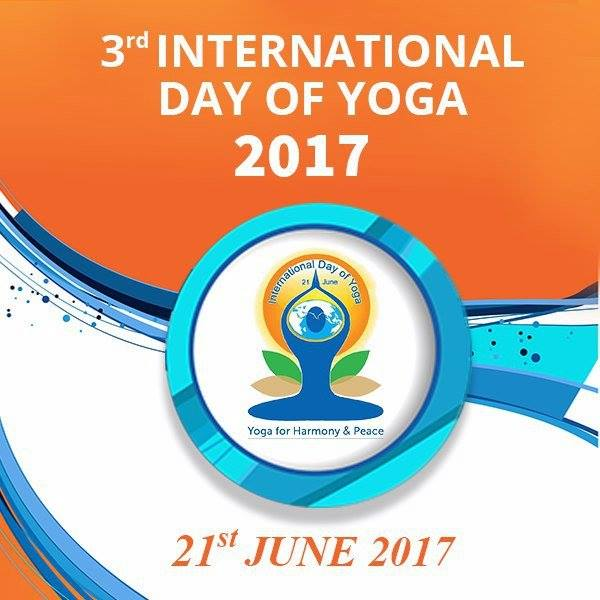 Celebrations of the 3rd International Day of Yoga