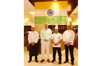 Indian Food Festival at Don Chan Palace, Vientiane from August 15-20, 2017 as part of celebrations of 70th Anniversary of Indias Independence and 25th Anniversary of India-ASEAN relations