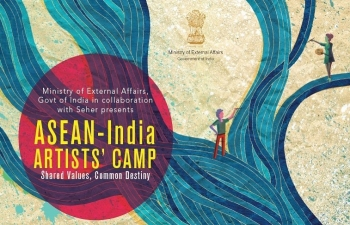 ASEAN - INDIA ARTISTS CAMP 2017 - SHARED VALUES, COMMON DESTINY during September 20 - 29, 2017 at Udaipur, Rajasthan