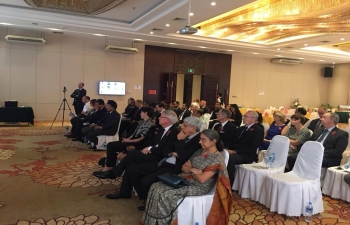 Embassy of India, Vientiane co-hosted the Commonwealth Remembrance Day (First World War) event with British Embassy.  The event highlighted the great contributions and sacrifices of Indian soldiers.
