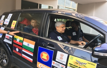 India-ASEAN Road Show -cum- Friendship Car rally to Vientiane, Laos from January 19-21, 2018. The Car Rally was organized by the North East Federation on International Trade (NEFIT)   from Guwahati to Gawahati covering three ASEAN countries viz. Myanmar, Thailand and Laos.