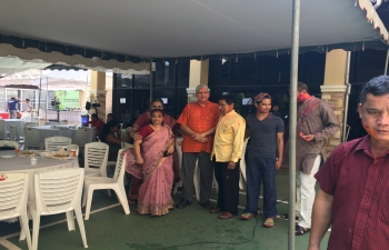 Holi Celebrations in Embassy of India, Vientiane on 3rd March, 2018