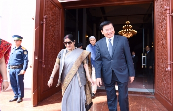 Visit of External Affairs Minister Smt. Sushma Swaraj to Lao PDR from November 22-23, 2018