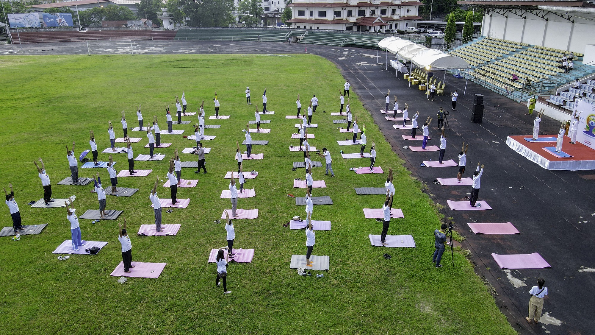 Celebration of 7th International Day of Yoga on 26 June 2021